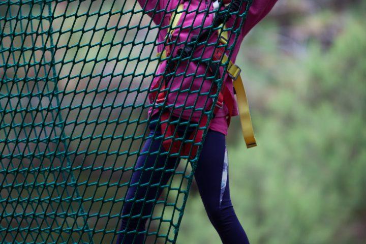 Parque acrobático forestal