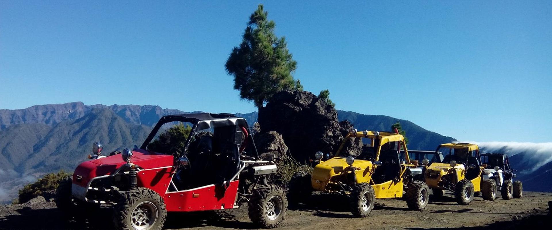 Ruta de Los Volcanes en Buggy (5 horas)